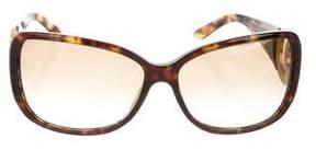 Salvatore Ferragamo Embellished Tortoiseshell Sunglasses