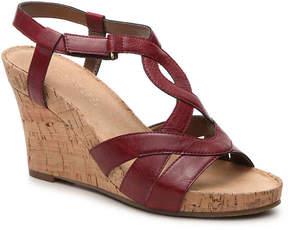 Aerosoles Women's Wonderplush Wedge Sandal