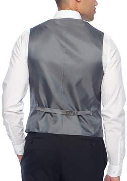 Claiborne Stripe Classic Fit Suit Vest