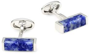 Jan Leslie Men's Sterling Silver Cross-Section Cufflinks