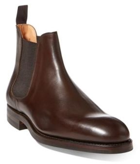 Ralph Lauren Ruddington Calf Chelsea Boot Brown 10 D