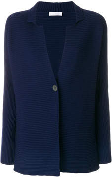 Le Tricot Perugia rib knit cardigan