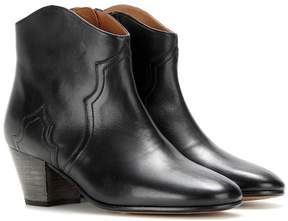 Etoile Isabel Marant Dicker leather ankle boots