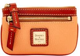 Dooney & Bourke Pebble Grain Small Coin Case - APRICOT - STYLE