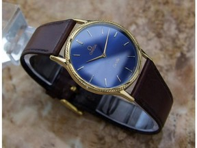Omega DeVille 1332 Stainless Steel / Yellow Gold Plated Vintage 31mm Mens Watch