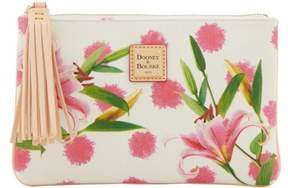 Dooney & Bourke Flowers Carrington Pouch - LILY - STYLE