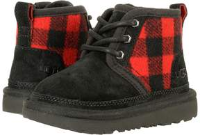 UGG Neumel II Plaid Boys Shoes