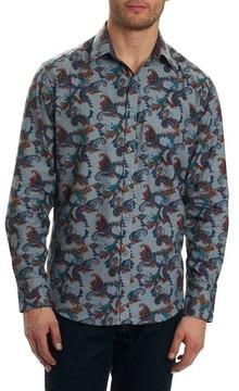 Robert Graham Men's Massif Print Sport Shirt