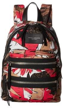 Marc Jacobs Palm Printed Mini Biker Backpack Backpack Bags - PINK MULTI - STYLE