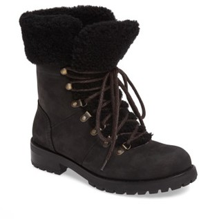UGG Women's Fraser Genuine Shearling Water Resistant Boot