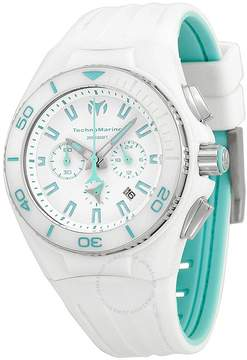 Technomarine Cruise White Vision II White Dial White Silicone Unisex Watch
