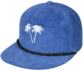 Quiksilver Dark Denim Pam Tree Ball Cap