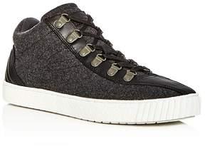 Tretorn Men's Dante Wool & Leather Mid Top Sneakers