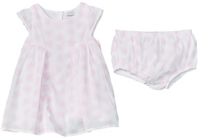 Absorba Girls' 2Pc Dress & Bloomer Set
