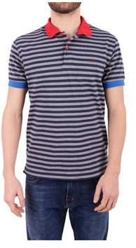 Sun 68 Men's Blue Polo Shirt.