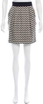Matthew Williamson Embellished Chevron Skirt