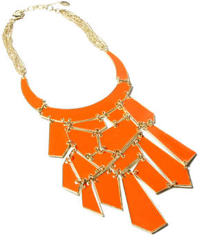 Amrita Singh Coral Broome Street Bib Necklace