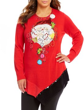 Berek Plus Santa Candy Land Sweater