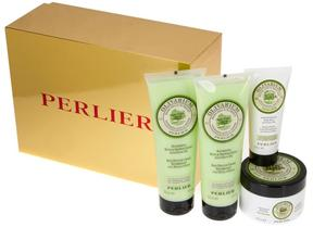 Perlier Olive Oil 4-piece Kit with Gift Box