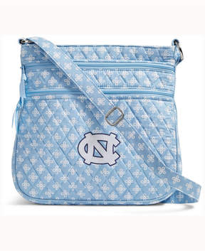 Vera Bradley North Carolina Tar Heels Triple Zip Hipster - LIGHTBLUE - STYLE