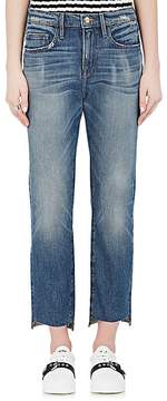 Frame Women's Le Boy Jean Raw Stagger Relaxed Jeans