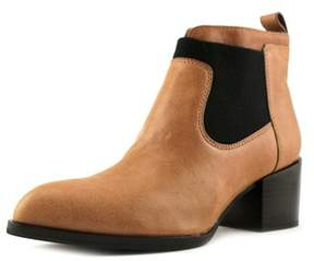 Calvin Klein Jeans Nev Vintage Goat Pointed Toe Leather Ankle Boot.