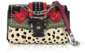 Paula Cademartori Multicolor Leather Kaia Love Shoulder Bag