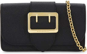 Burberry Buckle small leather cross-body bag - BLACK - STYLE