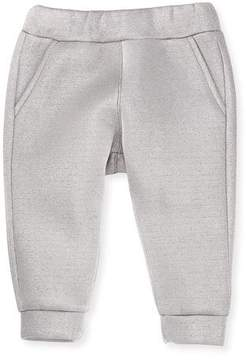 Fendi Infant Girls' Metallic Logo Pants, Size 12-24 Months