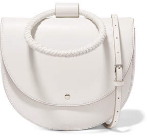 Theory Whitney Leather Shoulder Bag - White