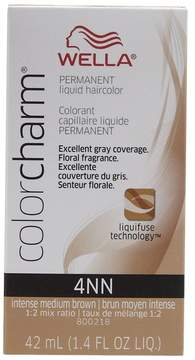 Wella 4NN Intense Medium Neutral Brown Permanent Liquid Hair Color