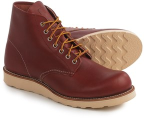 """Red Wing Shoes 8166 6"""" Round-Toe Boots- Leather, Factory 2nds (For Men)"""