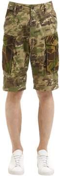 G Star Rovic Loose Camo Twill Cargo Shorts