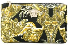 Versace Baroque print make-up bag