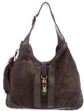 Gucci Large New Jackie Bag - GREY - STYLE