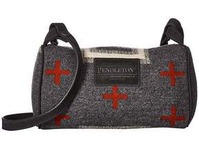 Pendleton Crossbody Purse with Leather Strap