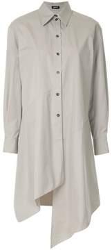Jil Sander Navy asymmetric shirt dress
