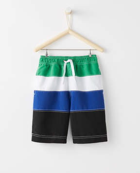 Hanna Andersson Sunblock Board Shorts With UPF 50+