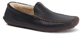 Trask Men's Denton Driving Shoe With Genuine Shearling