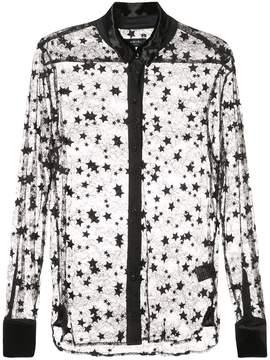 Amiri lace star shirt