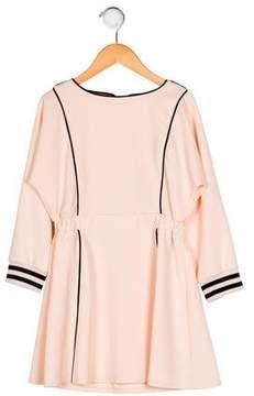 Elisabetta Franchi Girls' Long Sleeve Flared Dress w/ Tags