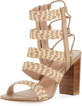 Charles by Charles David Ella Zigzag Woven Caged Sandal