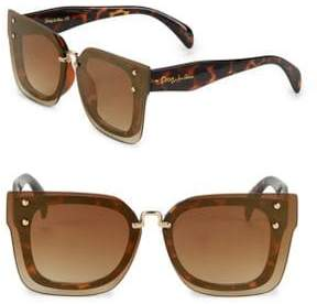 Sam Edelman 54MM Tinted Wayfarer Sunglasses