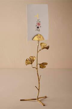Gingko Leaf Card Holder