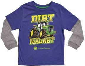 John Deere Baby Boy Dirt Magnet Skater Tee