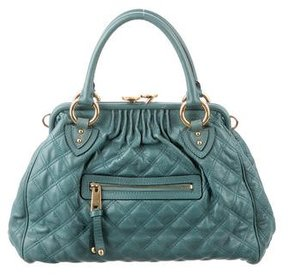 Marc Jacobs Quilted Stam Bag - GREEN - STYLE
