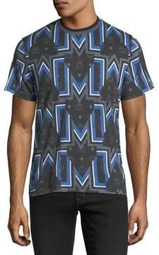 MCM Gunta M Visetos Logo Graphic T-Shirt