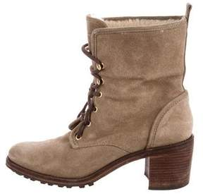 Hunter Suede Ankle Boots