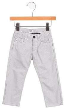 Armani Junior Girls' Pinstripe Straight-Leg Pants w/ Tags