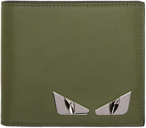 Fendi Green Bag Bugs Wallet